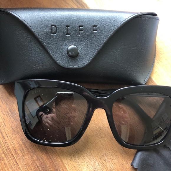 97bb750b633 Diff Eyewear Accessories - Diff Eyewear Bella black Sunglasses